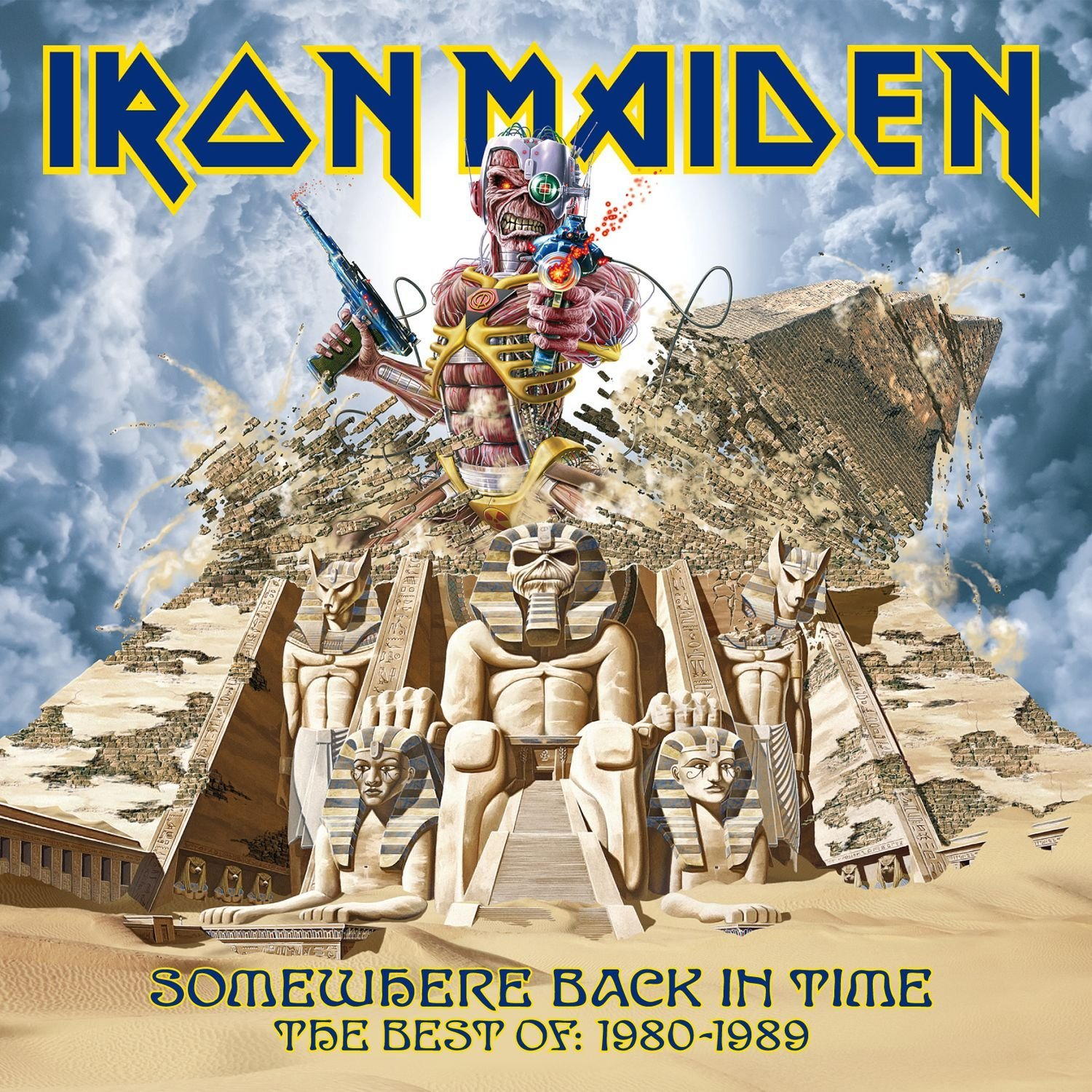 "IRON MAIDEN – ""Somewhere Back In Time. The Best Of: 1980-1989"""