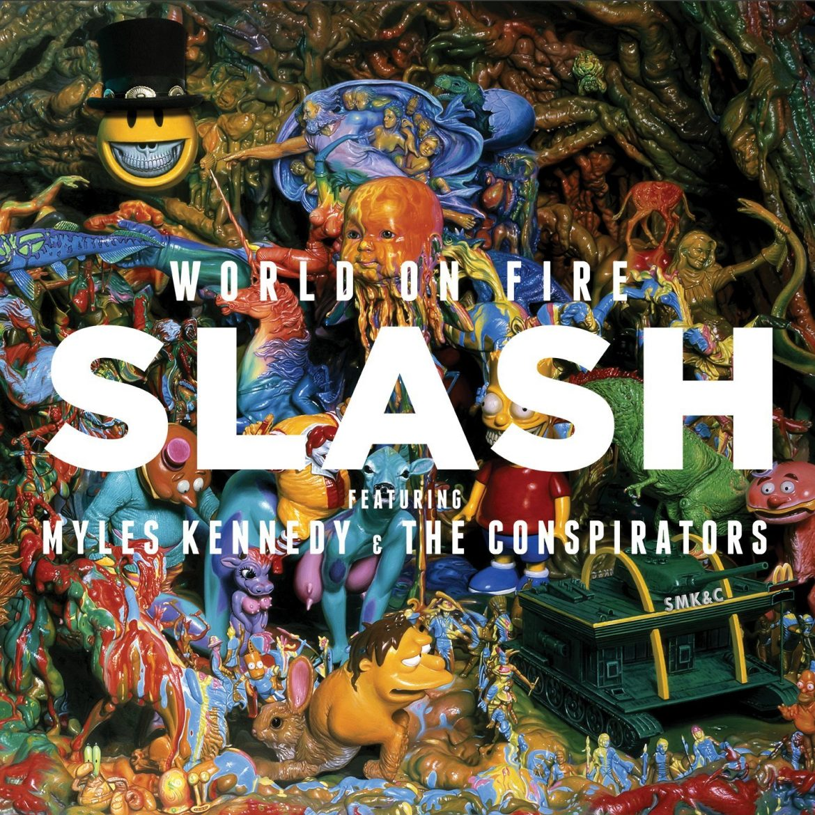 "Slash ft. Myles Kennedy & The Conspirators – ""World On Fire"""