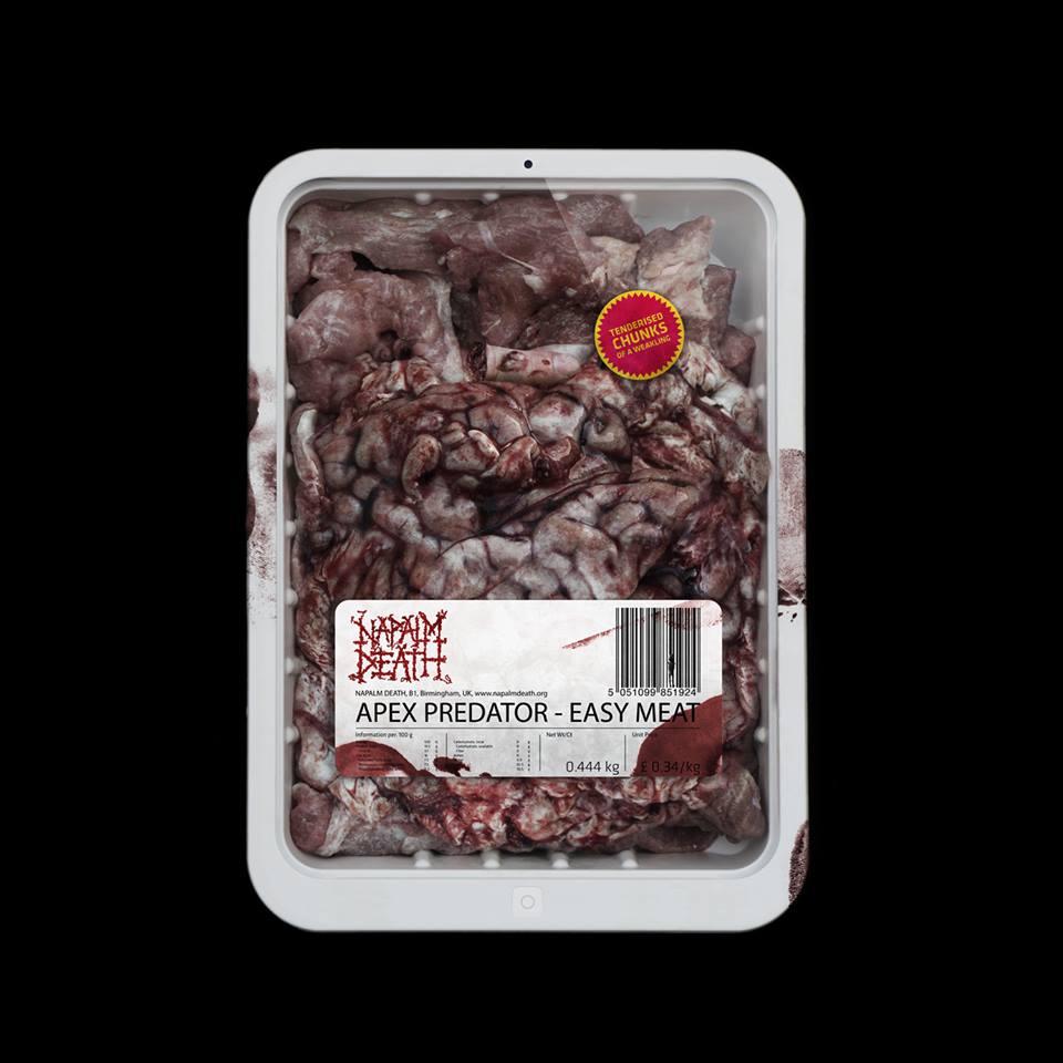 "Napalm Death – ""Apex Predator – Easy Meat"""