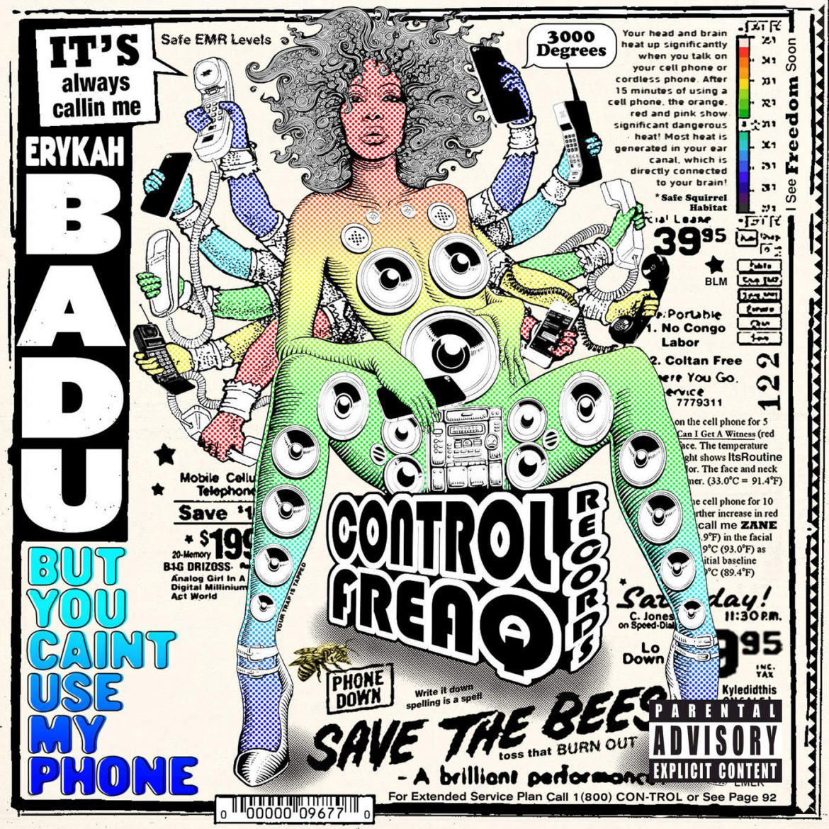 "Erykah Badu – ""But You Caint Use My Phone"""