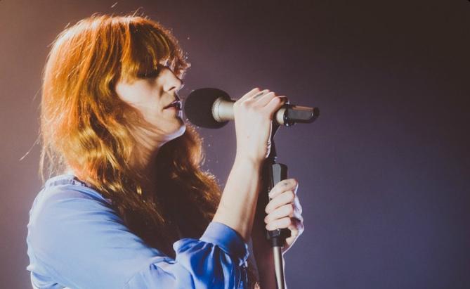 Florence Welch gościnnie u Rufusa Wainwrighta