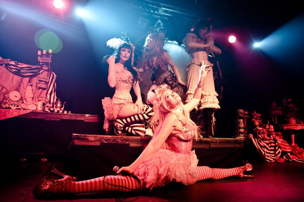 Emilie Autumn w Progresja (Foto: Rafał Nowakowski)