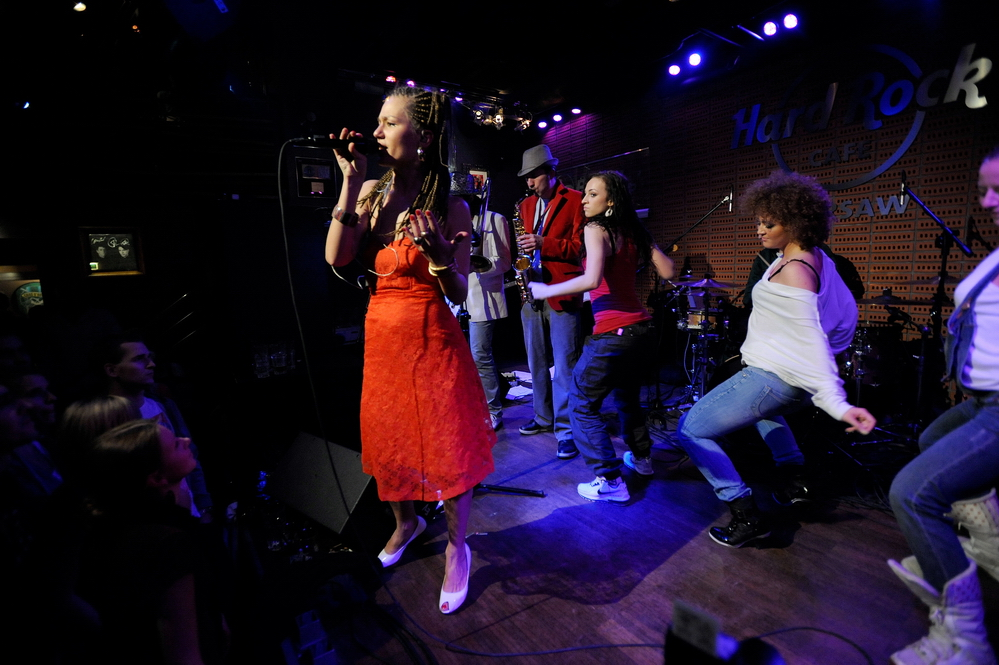 Marika w Hard Rock Cafe (Foto: P. Tarasewicz)
