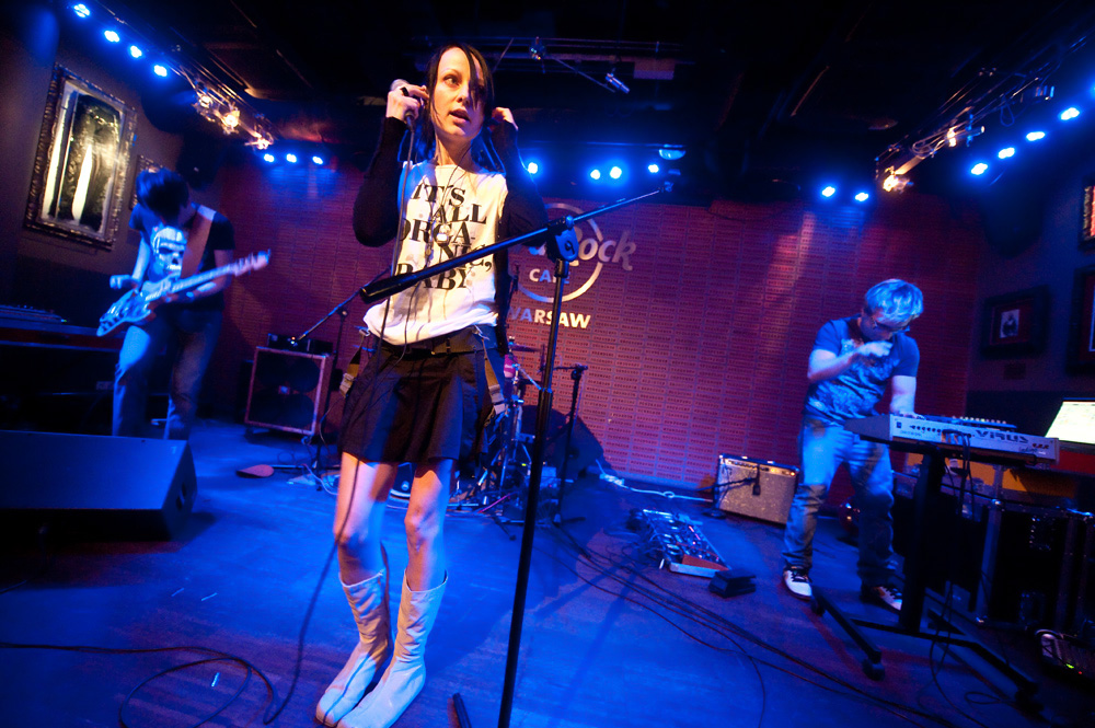Oszibarack w Hard Rock Cafe (Foto: R. Nowakowski)
