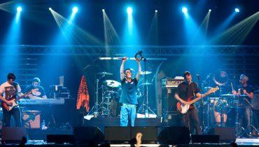 Ian Brown wystąpił w Stodole (Foto: Rafała Nowakowski)