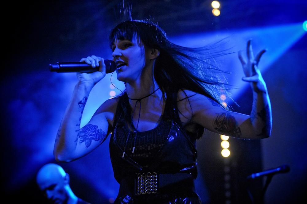 """Agnieszka Chylińska z """"Modern Rocking"""" w Palladium (Foto: P. Tarasewicz)"""