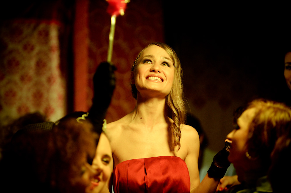 "Marika na planie klipu ""Uplifter"" (Foto: P. Tarasewicz)"