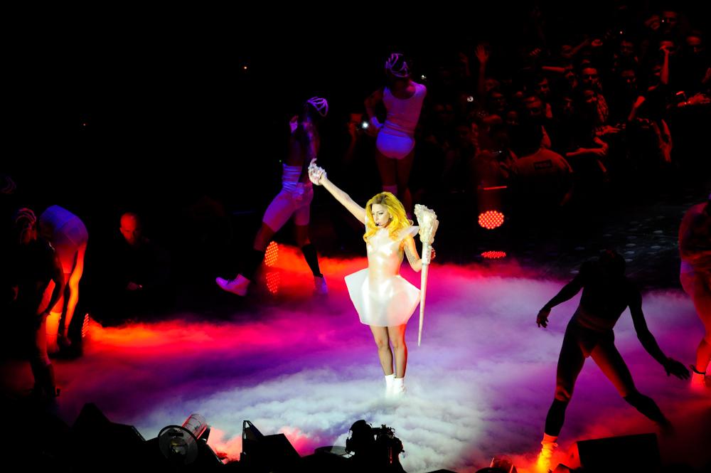 Lady Gaga wystąpiła w Gdańsku (Foto: A. Rożej)