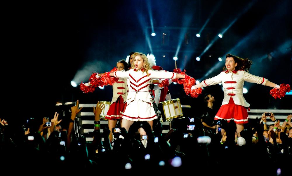 """Madonna: """"Jeśli zagłosujecie na Hillary Clinton, będę wam robić lody z połykiem"""""""