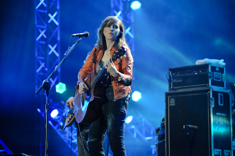 Edyta Bartosiewicz na Orange Warsaw Festival (Foto: P. Tarasewicz / A. Rożej)