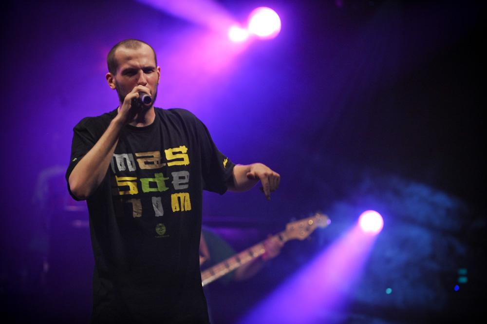 O.S.T.R. na Coke Live Fresh Noise (Foto: P. Tarasewicz)