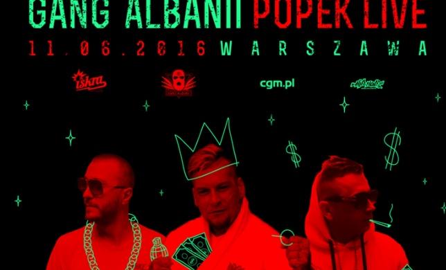 Gang Albanii zagra w warszawskiej Iskrze