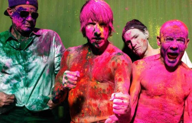Zostaw wiadomość dla Red Hot Chili Peppers