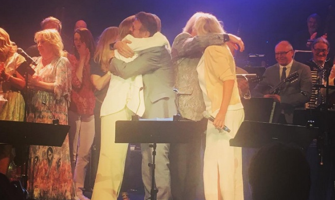 ABBA ponownie razem na scenie. Pierwszy raz od 30 lat