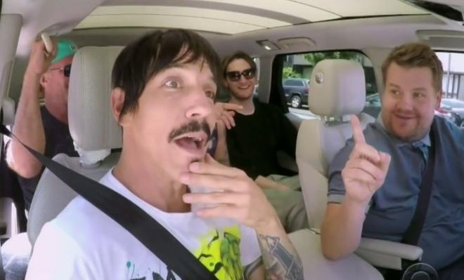 """Wokalista Red Hot Chili Peppers uratował życie dziecka w trakcie kręcenia """"Carpool Karaoke"""""""