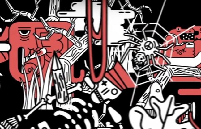 Pędzący, drum'n'bassowy remix JWP/BC