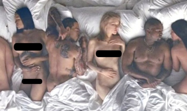 """Figury woskowe z """"Famous"""" Kanye Westa trafiły na sprzedaż"""