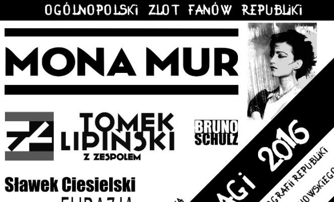 Mona Mur i Tomek Lipiński wśród gości Dnia Białej Flagi