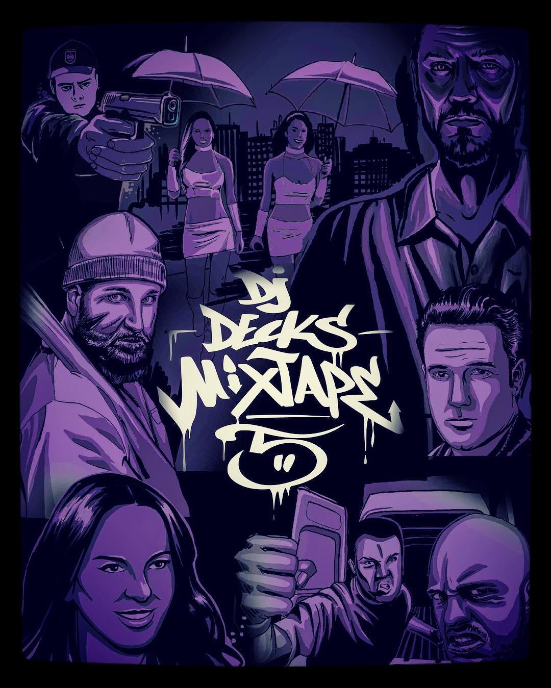 DJ Decks udostępnia odsłuch nowego numeru. Gościnnie Cira, Poszwix i Bezczel