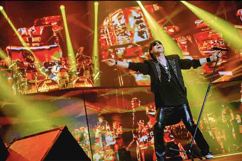 Scorpions wydadzą koncertówkę