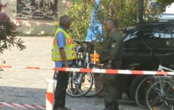 27-letni Syryjczyk zdetonował bombę w pobliżu terenu niemieckiego festiwalu.