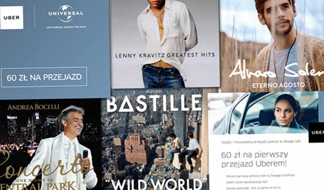 Universal Music Music Polska i Uber – nowy wymiar muzyki