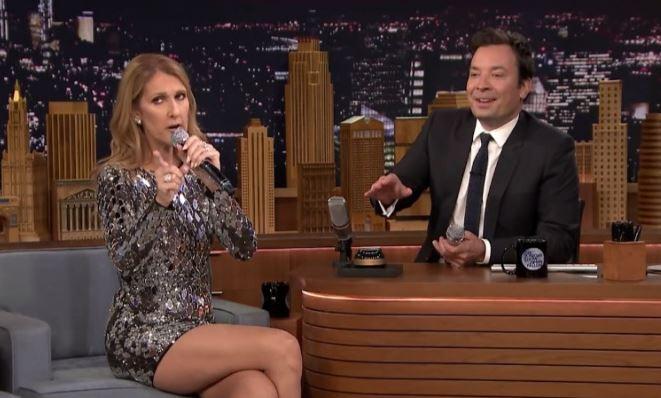 Celine Dion u Fallona. Wokalistka naśladuje Rihannę, Się i Cher