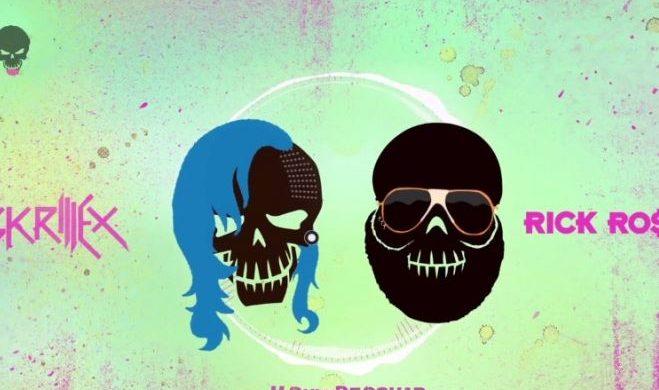 """Skrillex i Rick Ross promują """"Legion samobójców"""". Nowy kawałek już w sieci"""