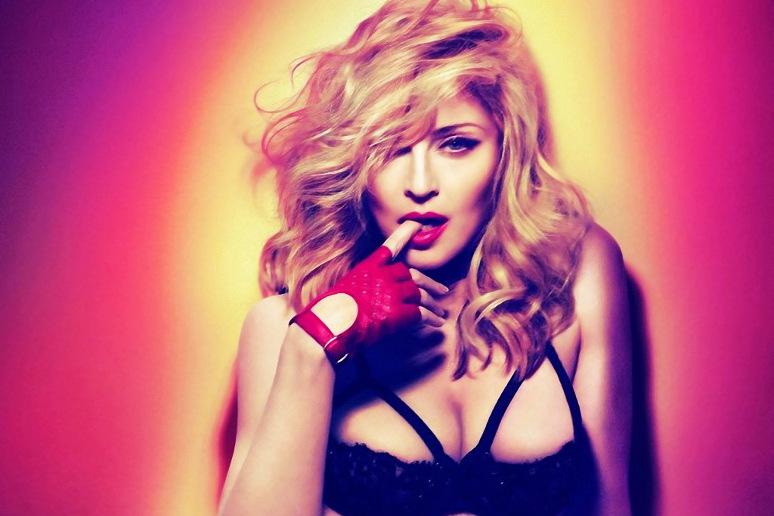 Co się stało z twarzą Madonny???