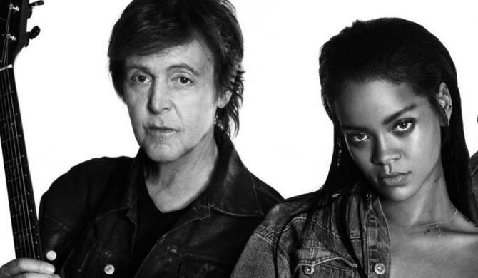 Rihanna wystąpiła z Paulem McCartneyem
