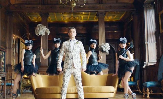 Polka w teledysku Robbiego Williamsa (wideo)