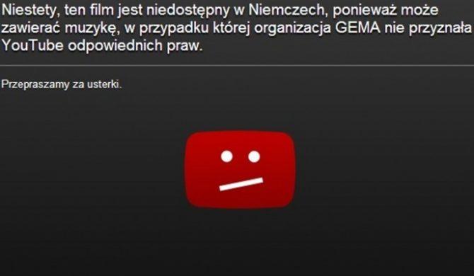 Koniec z blokadą teledysków na YouTube w Niemczech