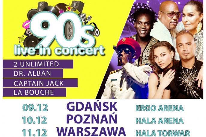 IMPREZA TYGODNIA: 90's Live in Concert