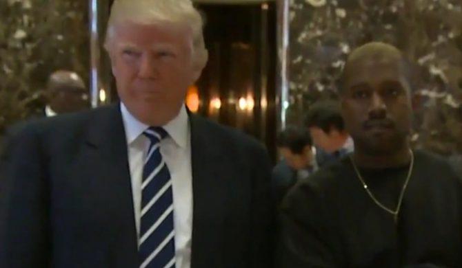 Donald Trump spotkał się z Kanye Westem