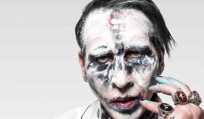 Marilyn Manson komentuje swój wypadek na scenie
