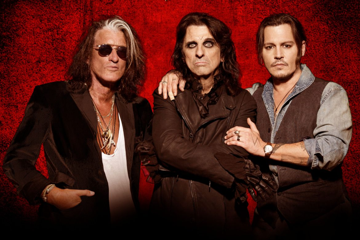 Joe Perry, Alice Cooper i Johnny Depp w Polsce