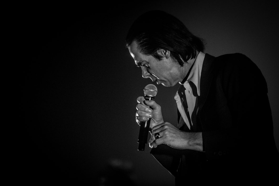 NICK CAVE AND THE BAD SEEDS – Torwar, Warszawa, 24.10.17 (foto: P. Tarasewicz)