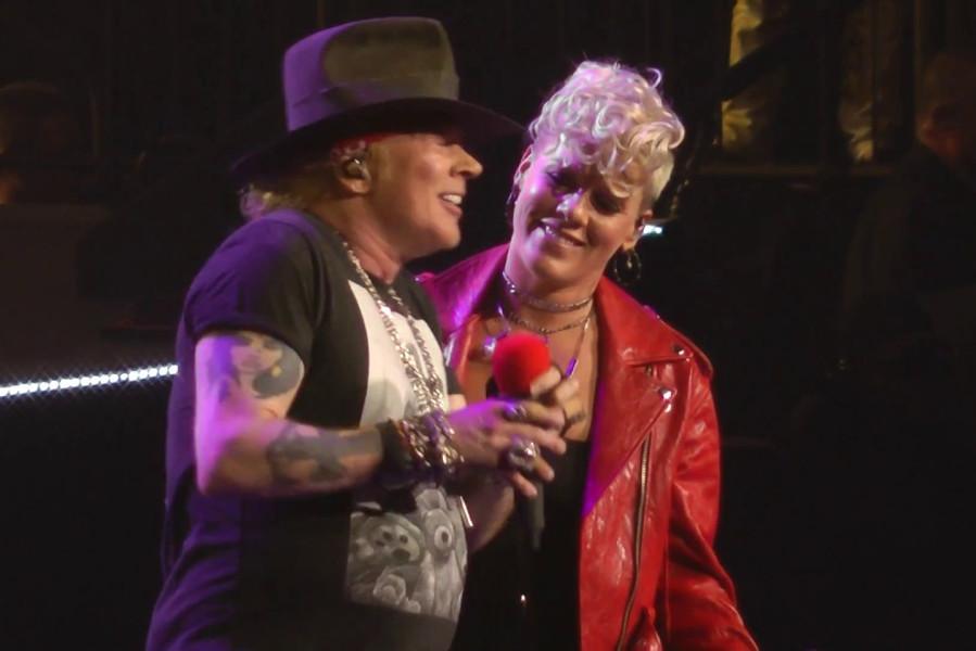 P!nk wystąpiła z Guns N' Roses