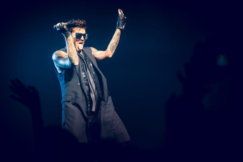 Queen + Adam Lambert na zdjęciach z Atlas Areny