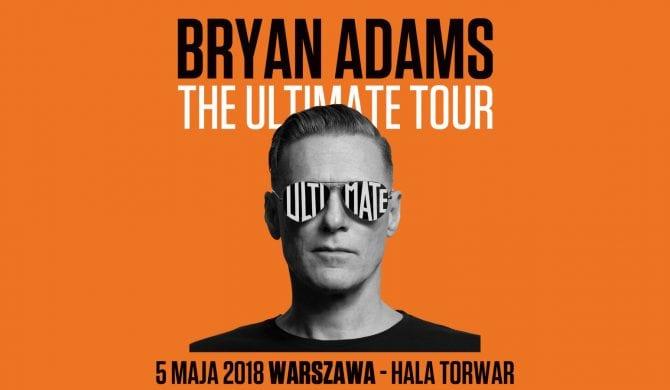Bryan Adams wiosną w Warszawie