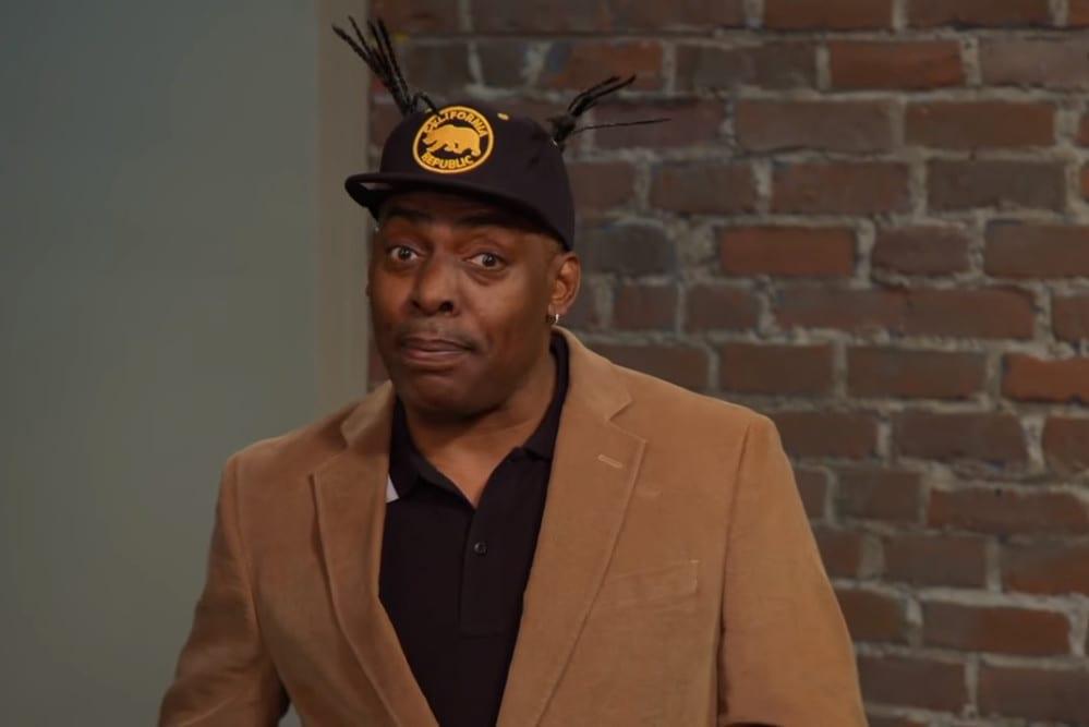Coolio uczy białych wymawiać hip-hopowe wyrazy