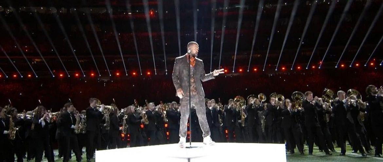 Zobacz koncert Justina z Super Bowl