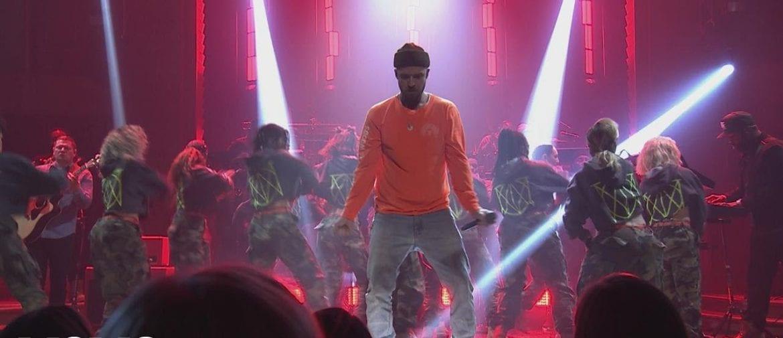 Justin Timberlake promuje nowy album u Fallona