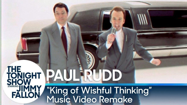 Jimmy Fallon i Paul Rudd w świetnym remake'u hitu z 1990 roku