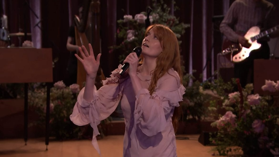 Florence + The Machine na żywo u Jimmy'ego Fallona