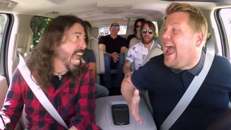 """Foo Fighters kiepsko wspominają udział w """"Carpool Karaoke"""""""
