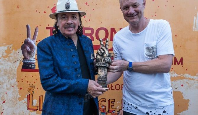 """Carlos Santana: """"Chcemy uleczyć naszą planetę"""""""