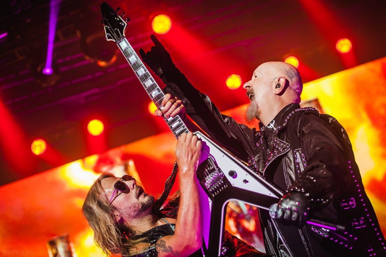 Judas Priest i Megadeth na zdjęciach z koncertu w Spodku