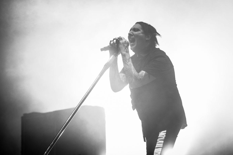 Marilyn Manson przerwał koncert z powodów zdrowotnych