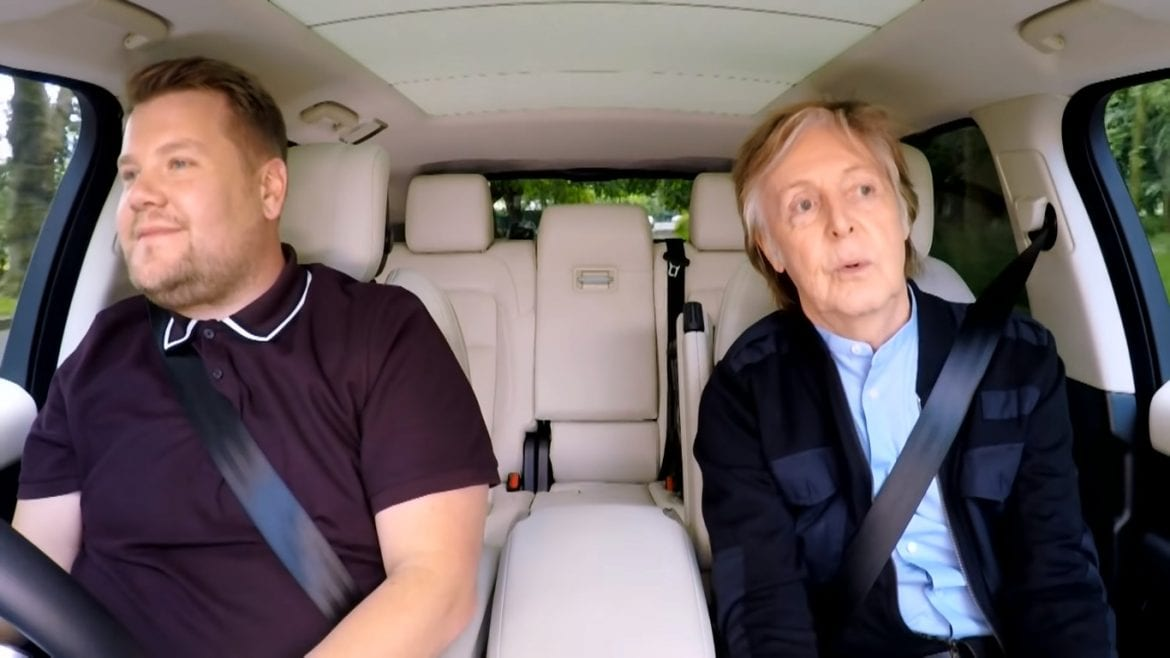 "Paul McCartney zachwycił w ""Carpool Karaoke"""